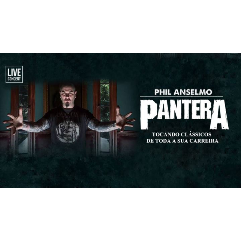 Phil Anselmo Live in Brasilia – 27/01