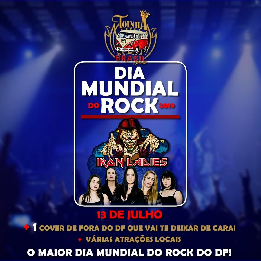 Dia Mundial do Rock – 13/07